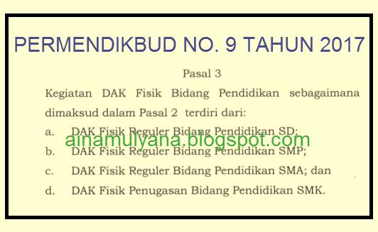 Image Result For Download Permendikbud Juknis Dak