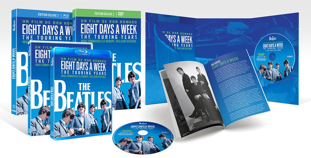 «The Beatles : Eight Days a Week - The Touring Years» en DVD/Blu-ray