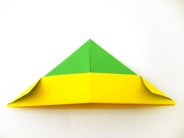 yoshizawa origami krone falten