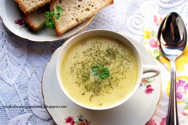 Zupa Z Cielęciny Zwana Mariacką Bernika Mój Kulinarny