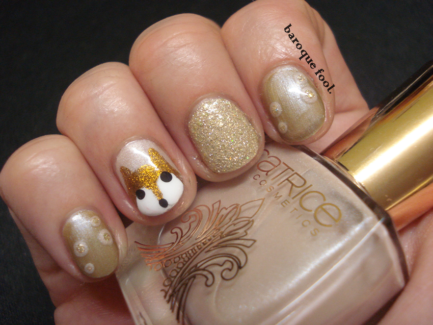 baroque fool: TUTORIAL: Foxy nails