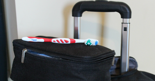 Why I Haven't Unpacked My Toiletries Bag