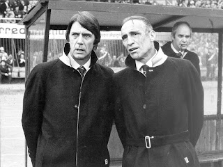 Maldini with Enzo Bearzot, to whom he was assistant head coach at the 1982 World Cup in Spain, which Italy won