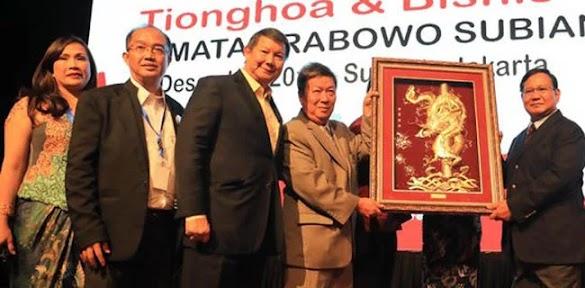 Inilah Tokoh Tionghoa di Balik Prabowo-Sandi