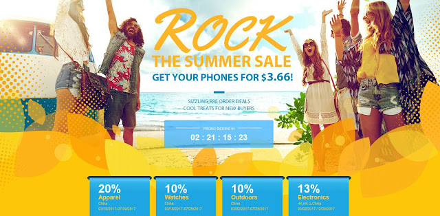 Gearbest Rock the Summer Sale 2017