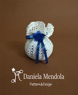 Crochet wedding favor - Bomboniera all'uncinetto