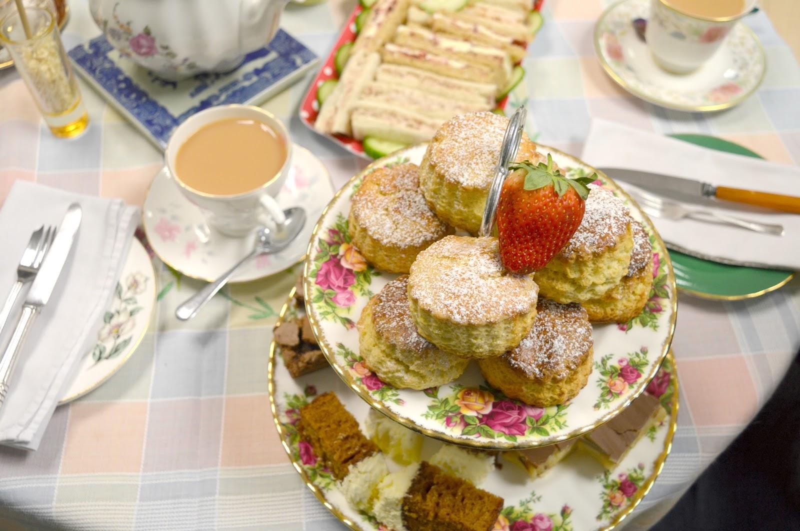Afternoon Tea at VIP Teas, High Spen
