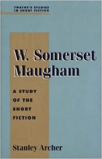 cover of W. Somerset Maugham. A Study of Short Fiction by Stanley Archer