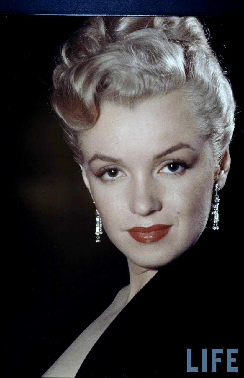 Marilyn Monroe Living Room Decor: Portraits Of Marilyn Monroe By Edward Clarke, 1950