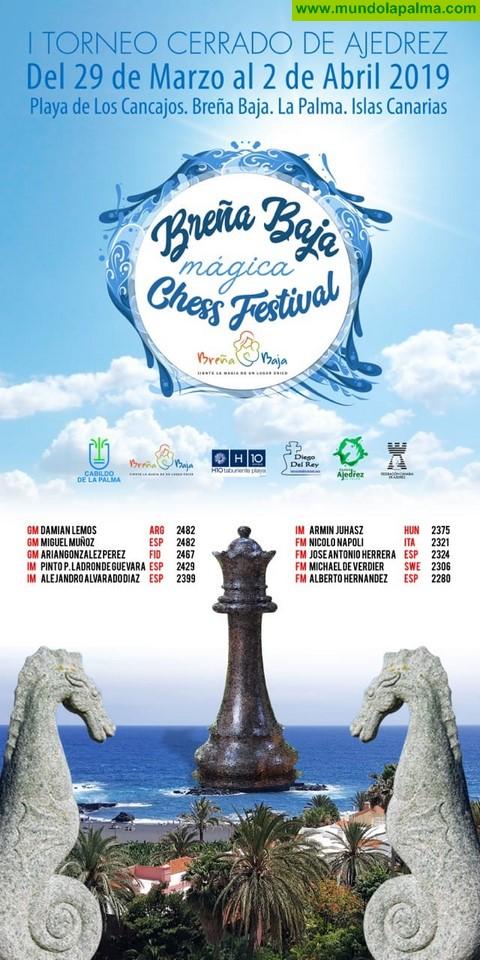 BREÑA BAJA: Campeonato de La Palma y I Torneo Internacional Cerrado de Ajedrez en el Taburiente Playa