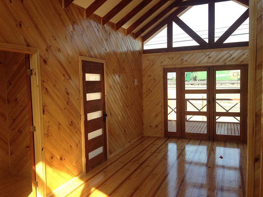 Casas prefabricadas azocar en talca casas prefabricadas Casas prefabricadas por dentro