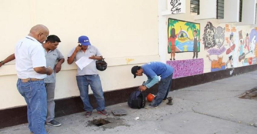 DRE Piura se comprometió a cancelar servicio de agua de colegios
