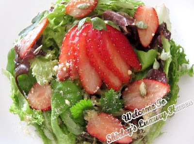 bewitching strawberry salad recipe