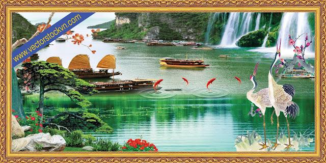 Phong Cảnh 3D việt Nam.