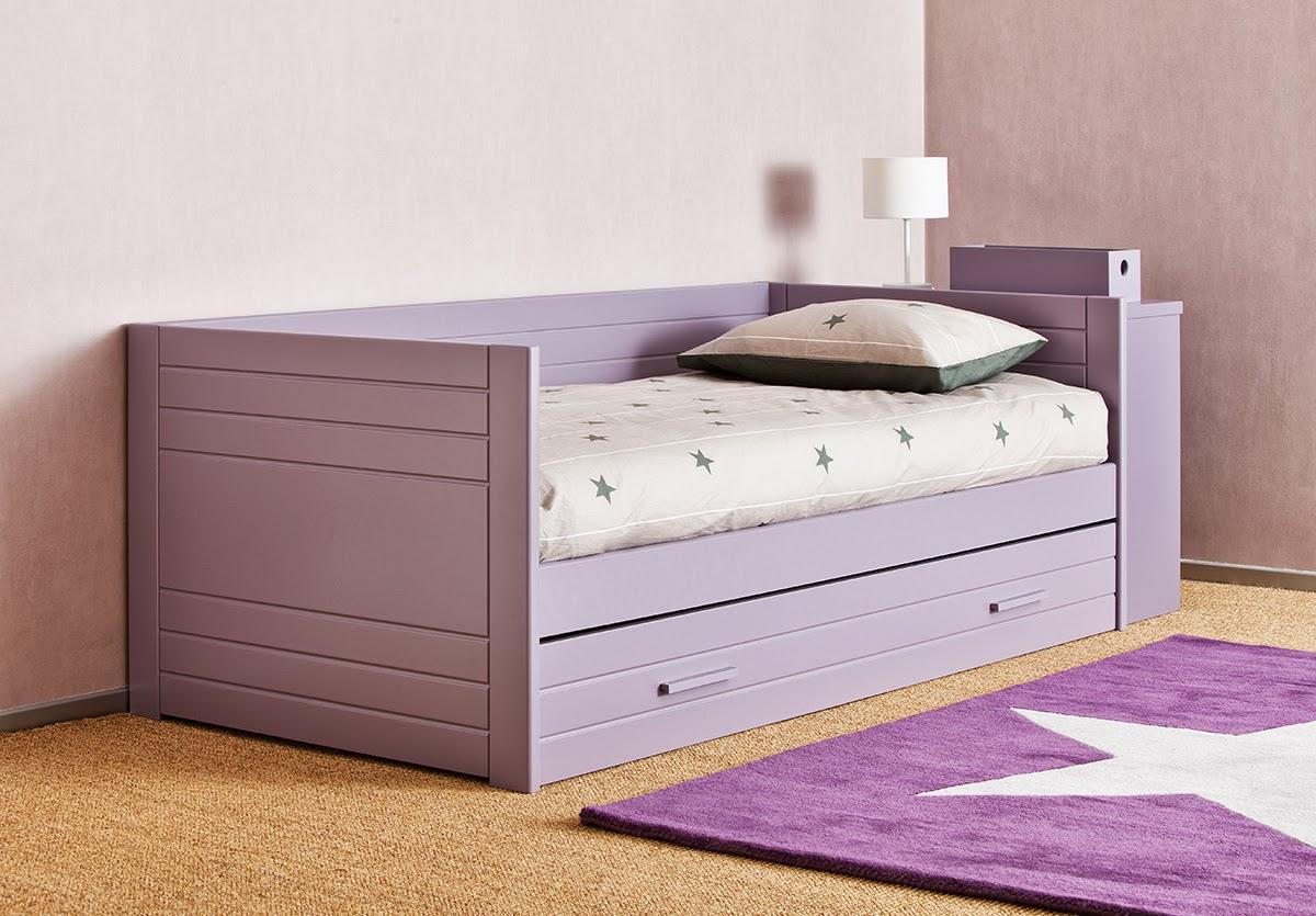 Dormitorios con camas nido for Sofa cama con almacenaje