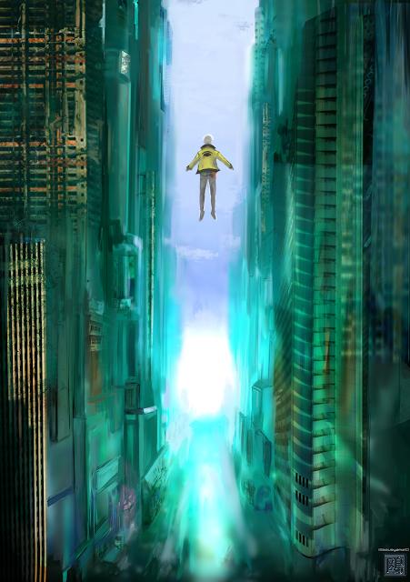 都市の渓谷で覚醒、浮遊するジェドーソロス