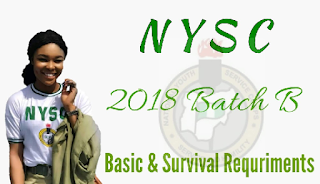2018 NYSC Batch B mobilization-How to Register.