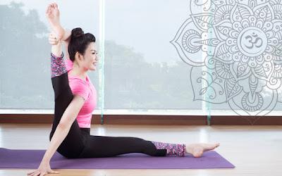 tập yoga với động tác cơ bản