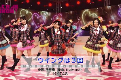 [LIVE] HKT48 - Wink wa Sankai @AKB48 SHOW! [140222]