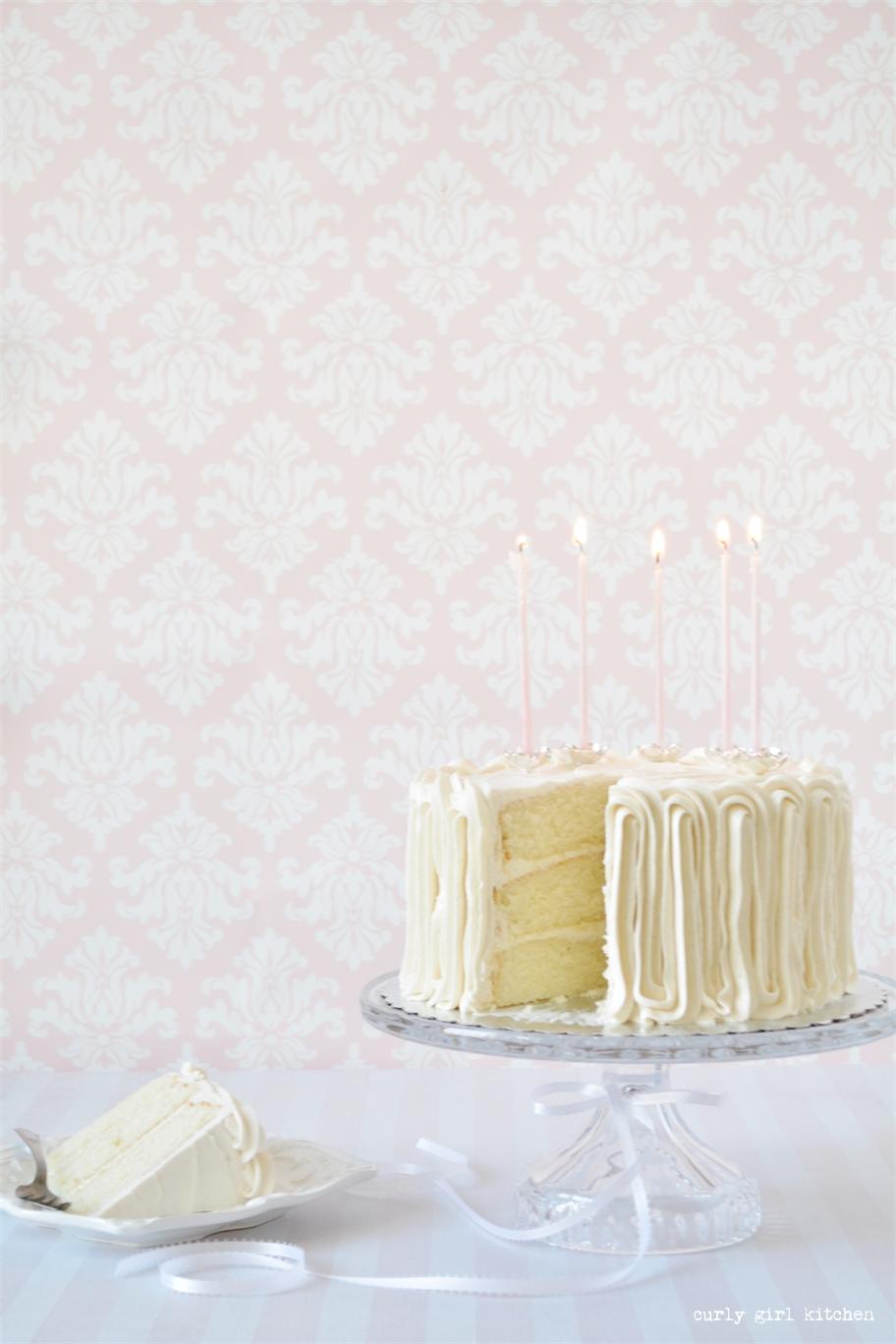 Curly Girl Kitchen: White Velvet Cake