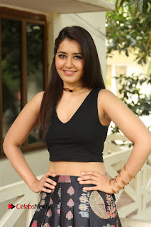 Actress Rashi Khanna Pictures at Hyper Movie Interview 0175