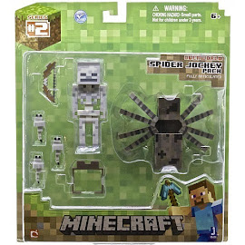 Minecraft Series 2 Spider Jockey Overworld Figure