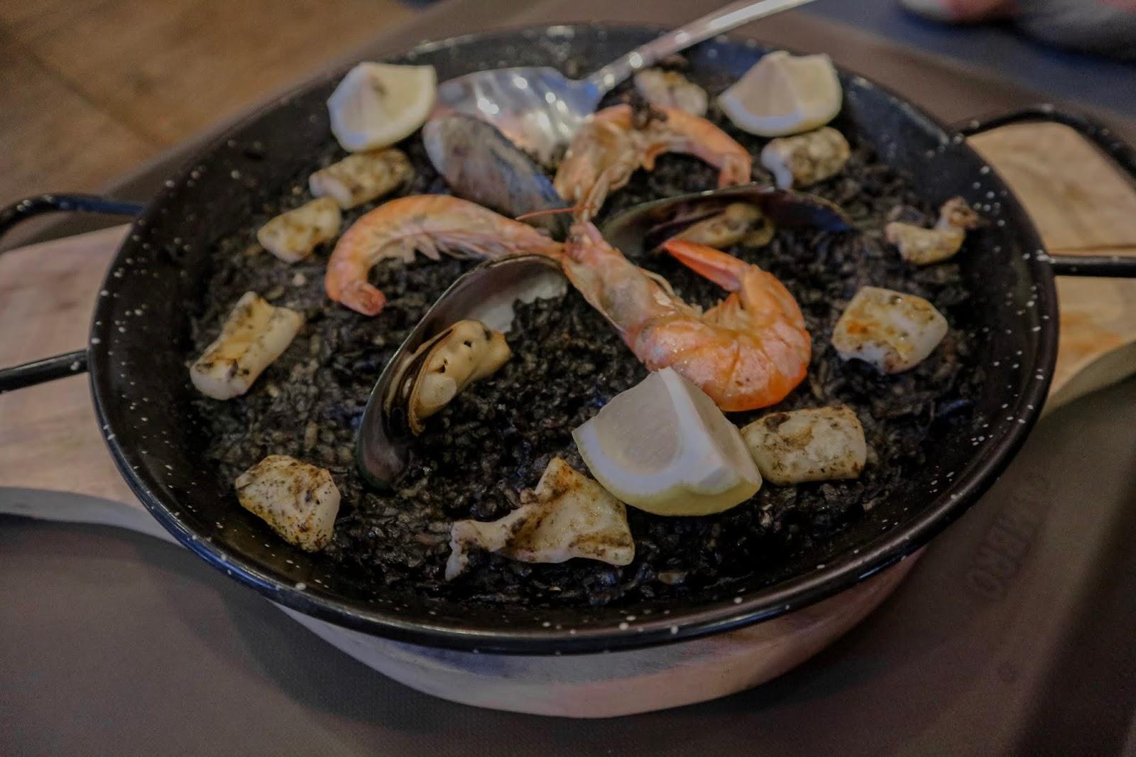 union market davao paella negra