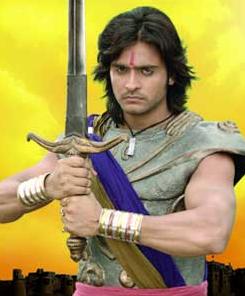 Foto Ashish Sharma sebagai Chandragupta Maurya