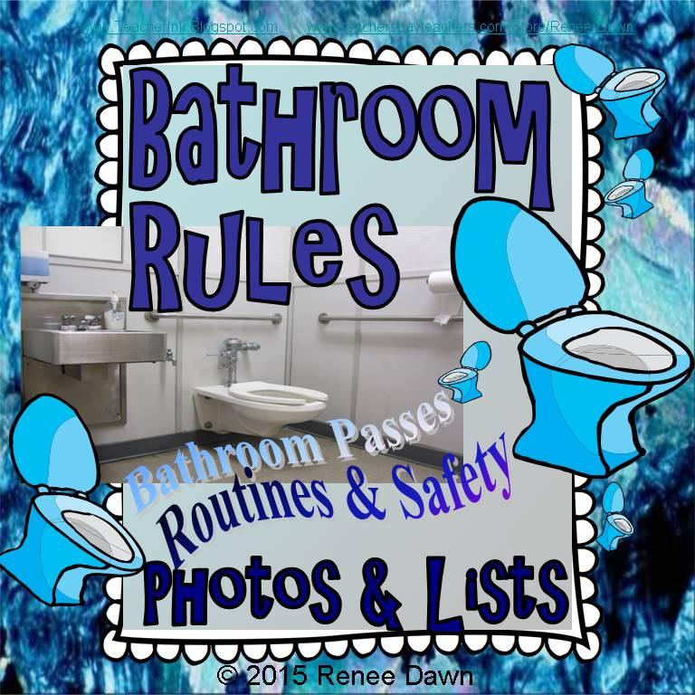 School Bathroom Rules teacher ink: october 2016