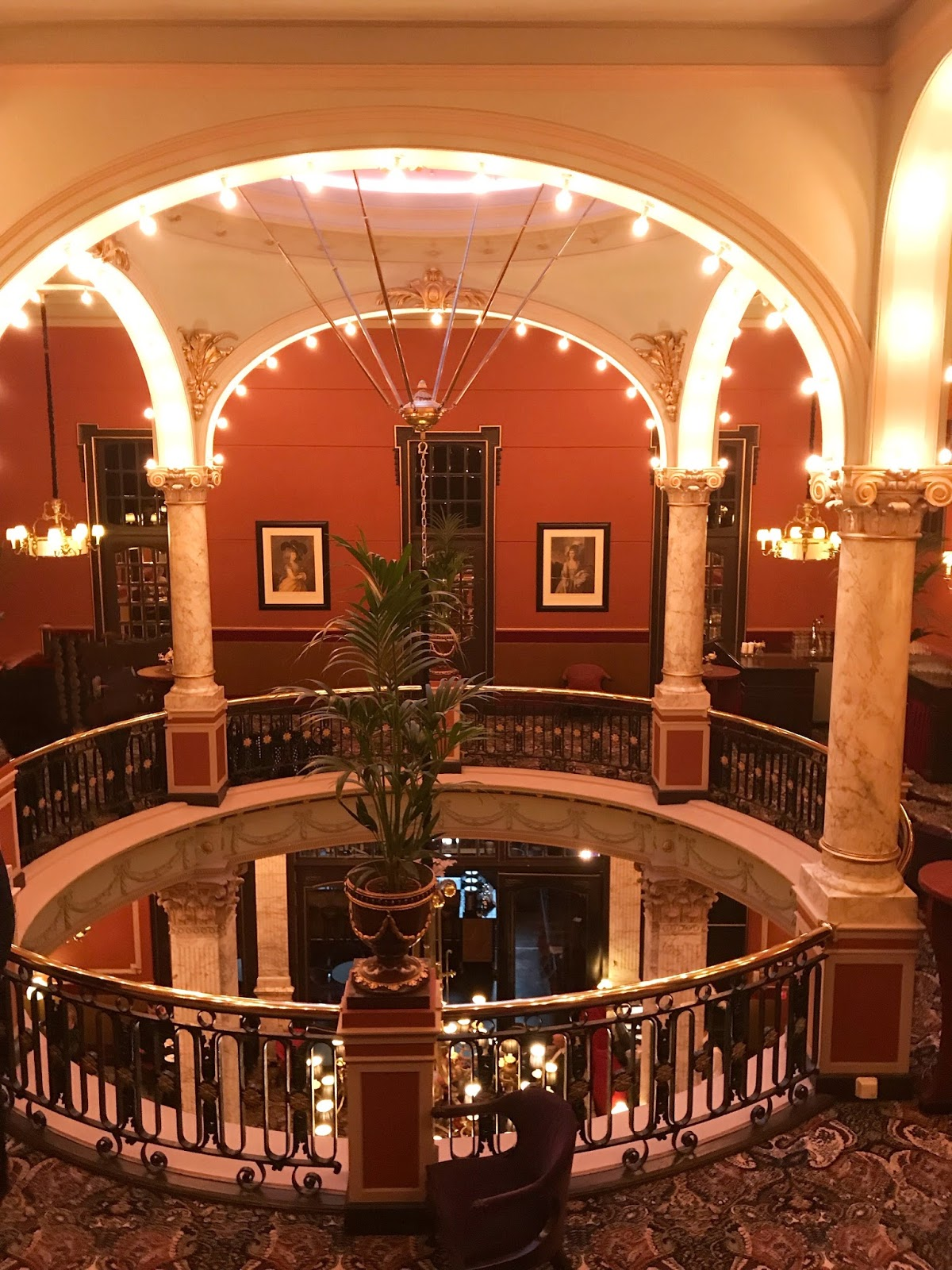 Luxury hotel Des Indes Netherlands