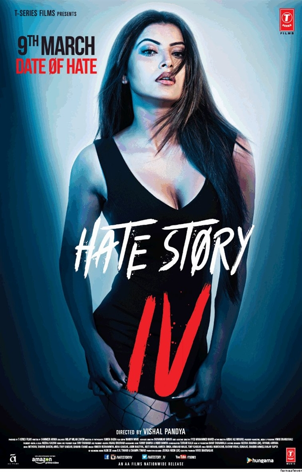 Hate Story IV 2018 Hindi DVDRip 700MB AAC ESubs MKV