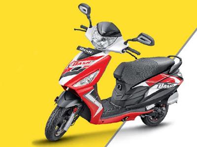 Hero Dash 110cc Scooter 2016