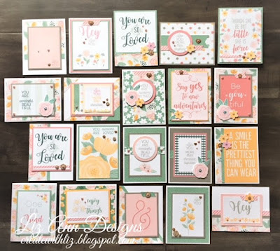 Be-YOU-tiful PML 20 Card Workshop