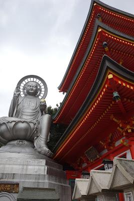 日本一地蔵尊と三重塔