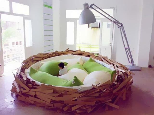 Tempat Tidur Sarang Burung