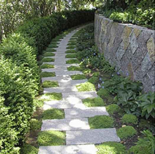 Stone Paths In Gardens: THE STONE PALACE: Path Ways