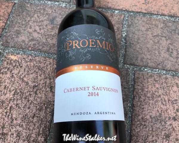 Proemio Reserve Cabernet Sauvignon 2014