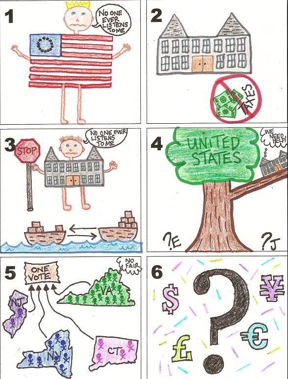 Articles Of Confederation Cartoon Drawing , Drawing Ideas