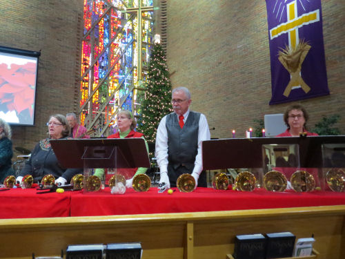 Manistee United Methodist handbell choir