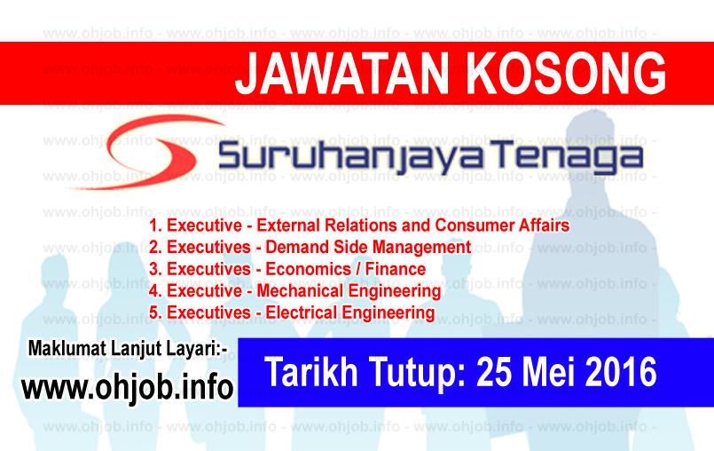 Jawatan Kerja Kosong Suruhanjaya Tenaga (ST) logo www.ohjob.info mei 2016