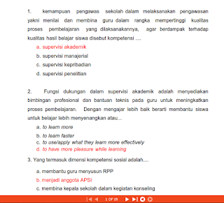 Soal Latihan UKA/UKG 2015 UKKS dan UKPS