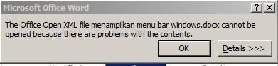 ekstensi file yang dirubah dari PNG ke docx tidak bisa dibuka