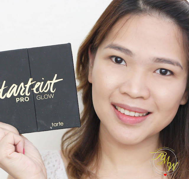 a photo of askmewhats wearing Tarte Tarteist Review