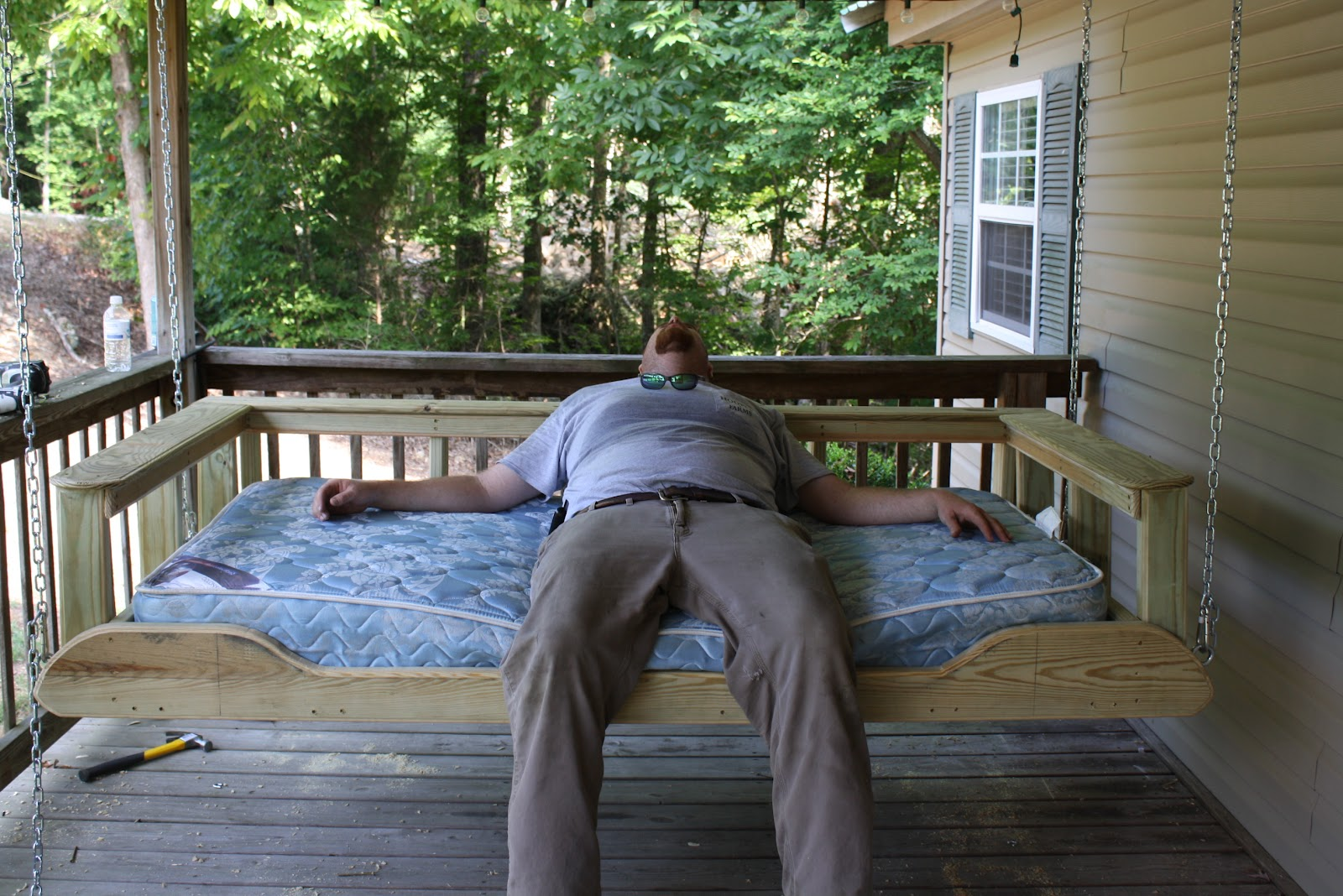 For Such A Time As This: Porch Bed Swing