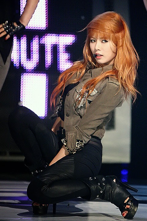 Photogenic Kim Hyuna