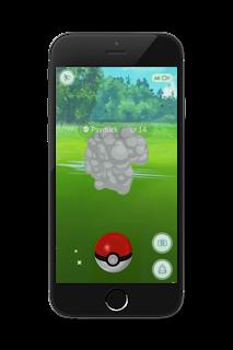 Psyduck escaped Pokémon Go