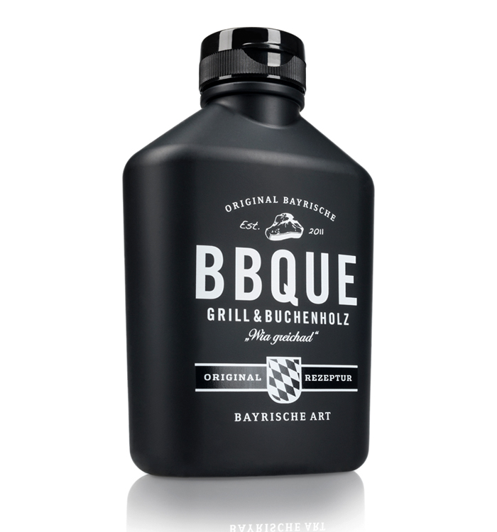 BBQUE Original Bavarian Barbecue Sauce On Packaging Of The