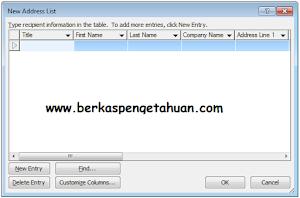 Bagaimanakah Cara Membuat Mail Merge di Microsoft Word?