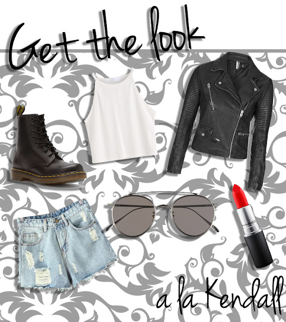 get kendall jenner's look