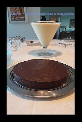 sobremesa de nutella; torta de nutella; receita de liquidificador; receita rápida; receita com chocolate; cobertura de ganache de chocolate